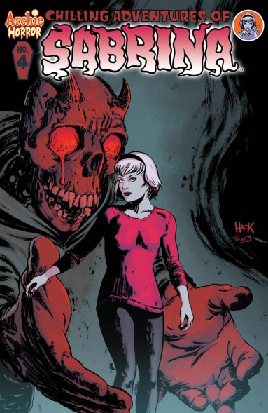 SABRINA #4 Cover by Robert Hack and Steve Downer