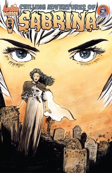 SABRINA #3 Cover by Robert Hack