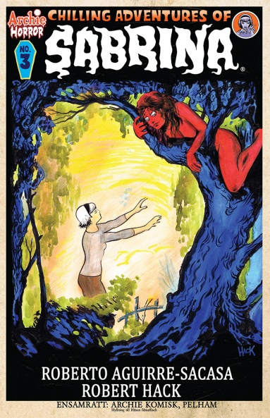 SABRINA #3 Variant Cover by Robert Hack