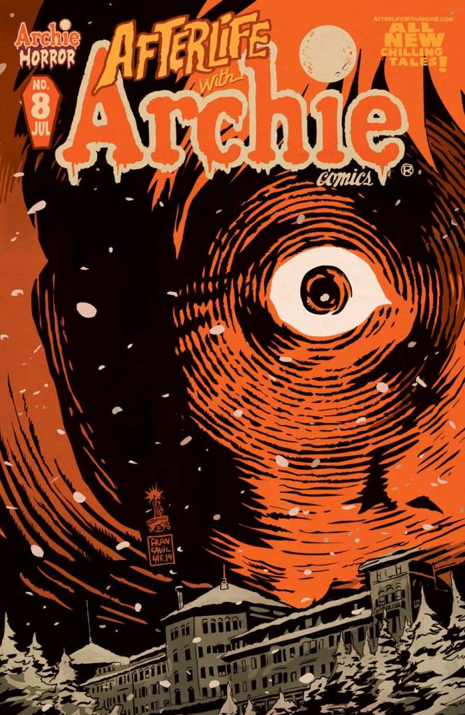 AFTERLIFE WITH ARCHIE #8 Cover by Francesco Francavilla