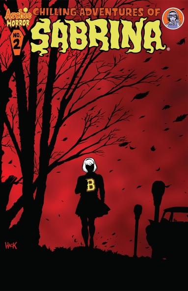 SABRINA #2 Cover by Robert Hack