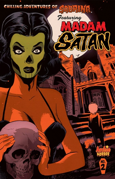 SABRINA #2 Variant Cover by Francesco Francavilla
