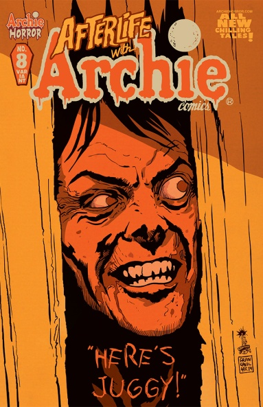 AFTERLIFE WITH ARCHIE #8 Variant Cover by Francesco Francavilla