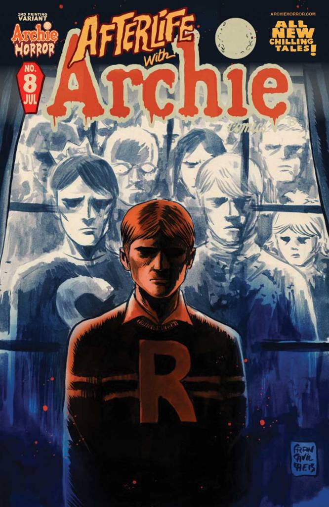 AFTERLIFE WITH ARCHIE #8 2nd Printing Cover by Francesco Francavilla