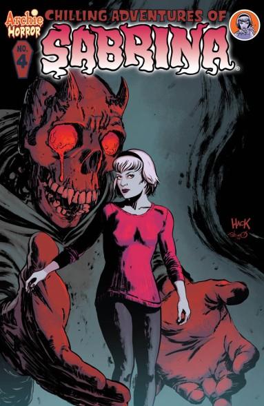 SABRINA #4 Cover by Robert Hack