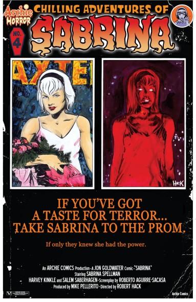 SABRINA #4 Variant Cover by Robert Hack