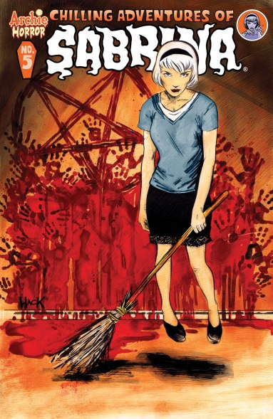 SABRINA #5 Regular Cover by Robert Hack - Order Code: MAR161081