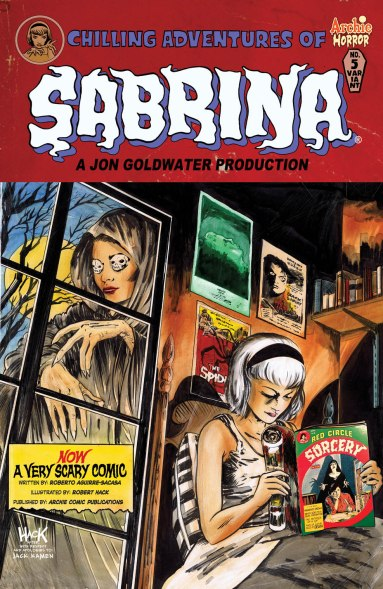 SABRINA #5 Variant Cover by Robert Hack - Order Code: MAR161082