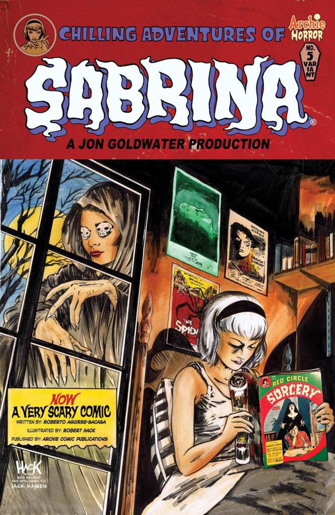 SABRINA #5 Variant Cover by Robert Hack - Order Code: MAR161082
