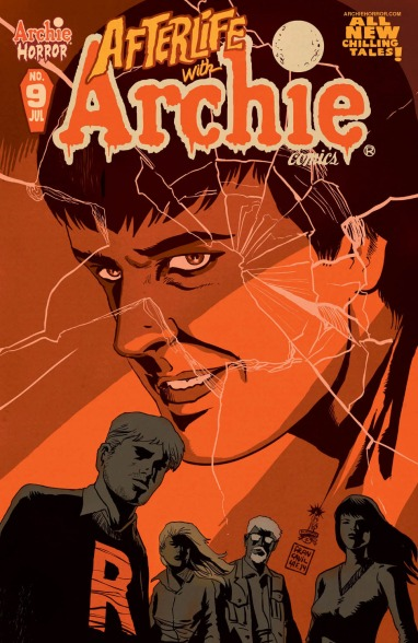 AFTERLIFE WITH ARCHIE #9 Cover by Francesco Francavilla