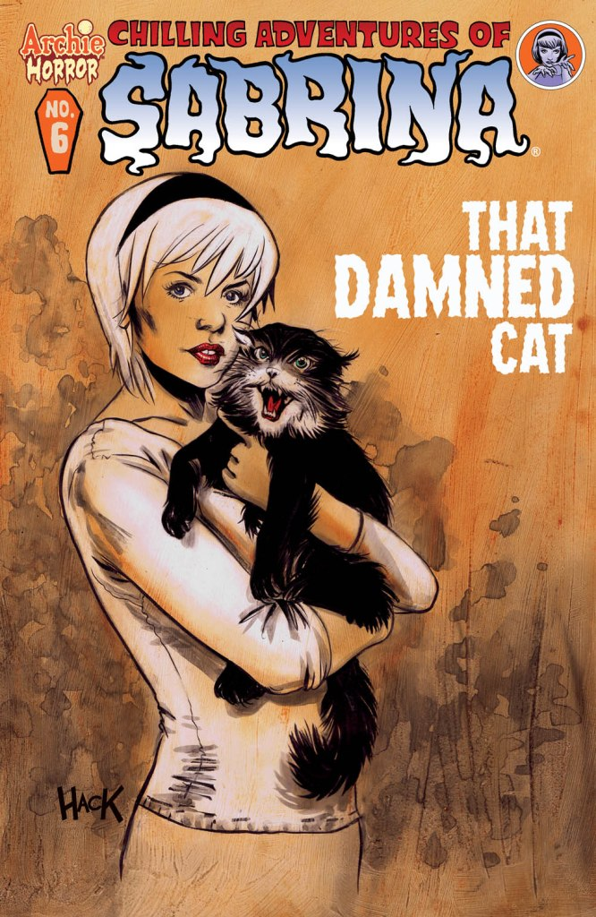SABRINA #6 Cover by Robert Hack. On Sale 7/13
